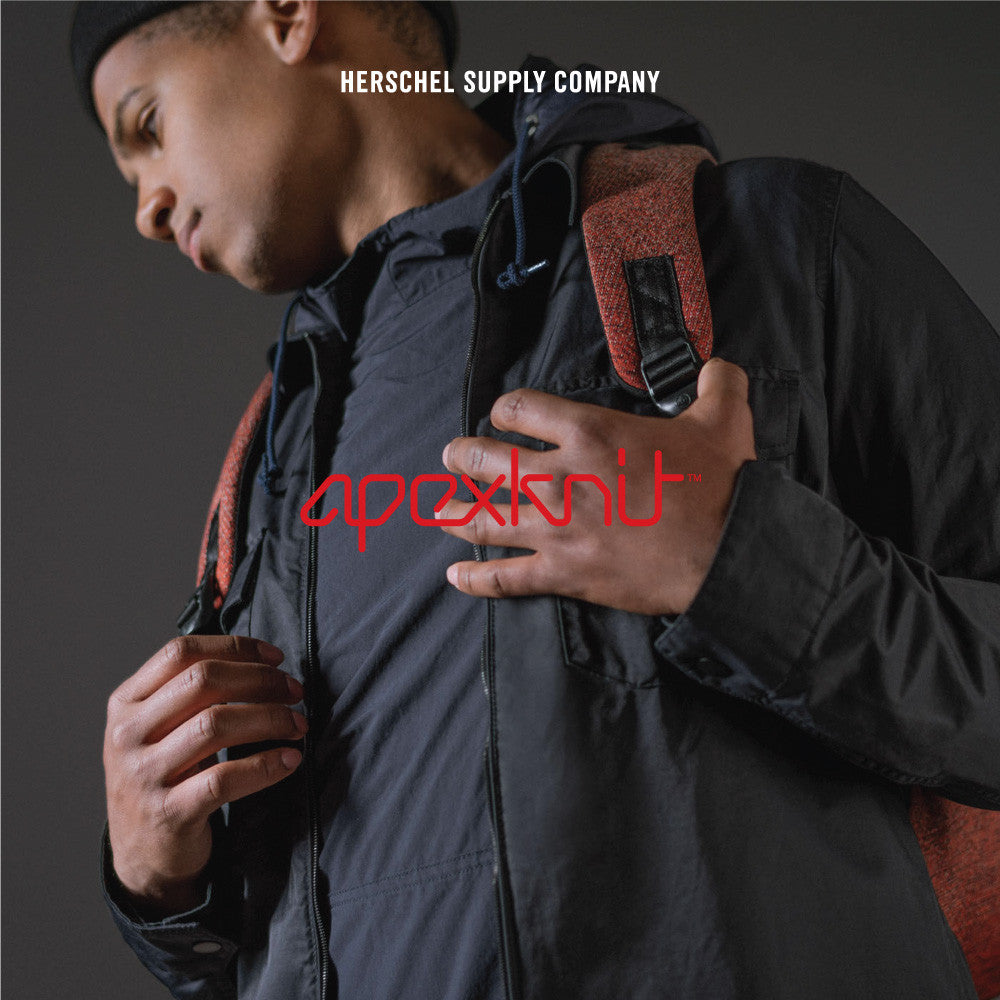 ApexKnit: Herschel Supply Co's first move into exclusive fabrics