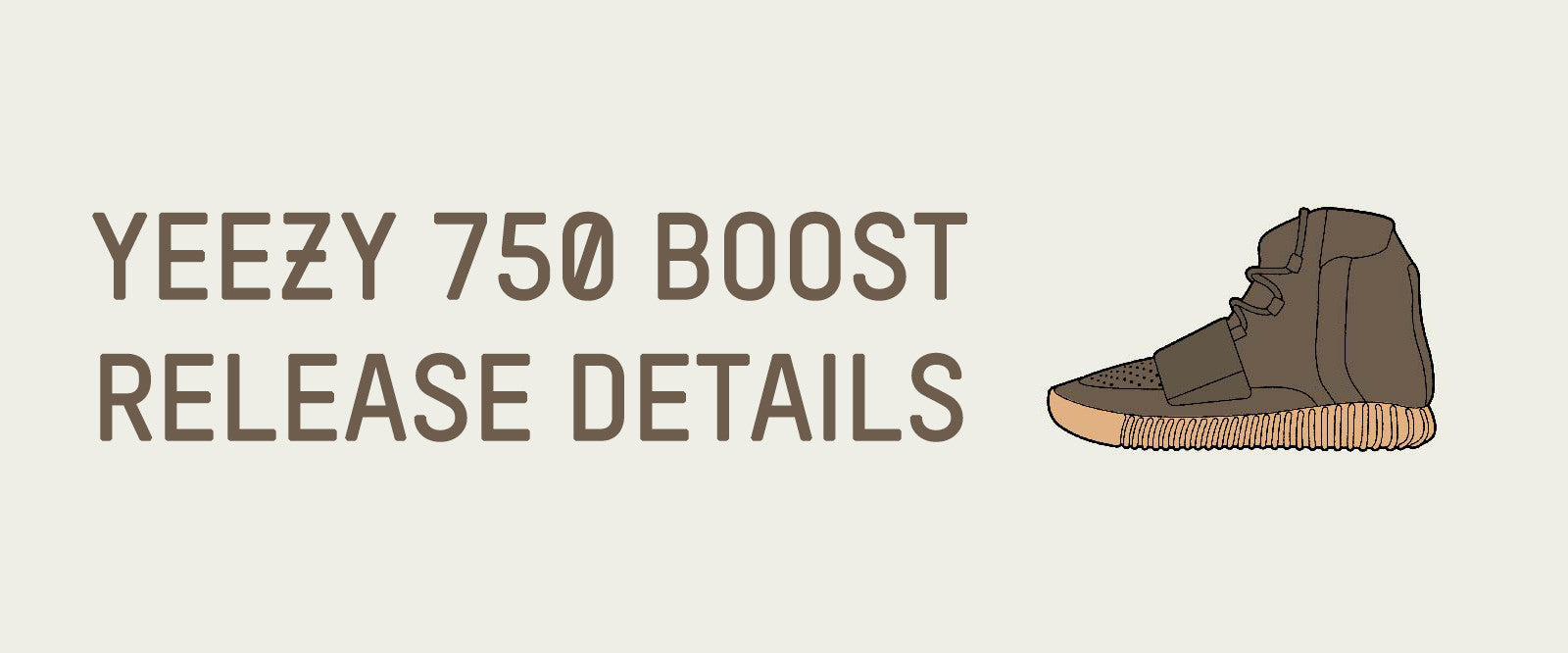YEEZY 750 BOOST CHOCOLATE BROWN