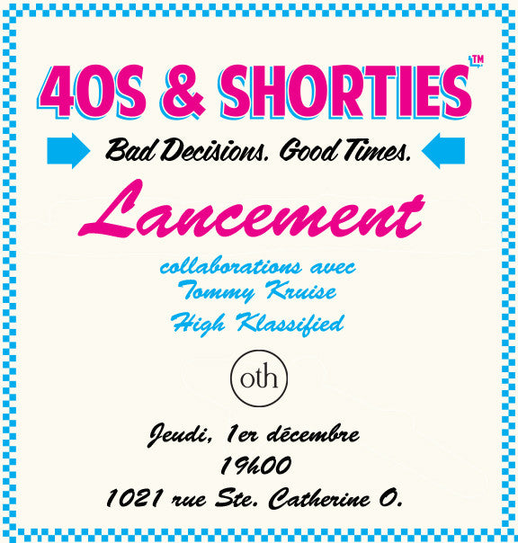 Pop Up Shop 40s & Shorties