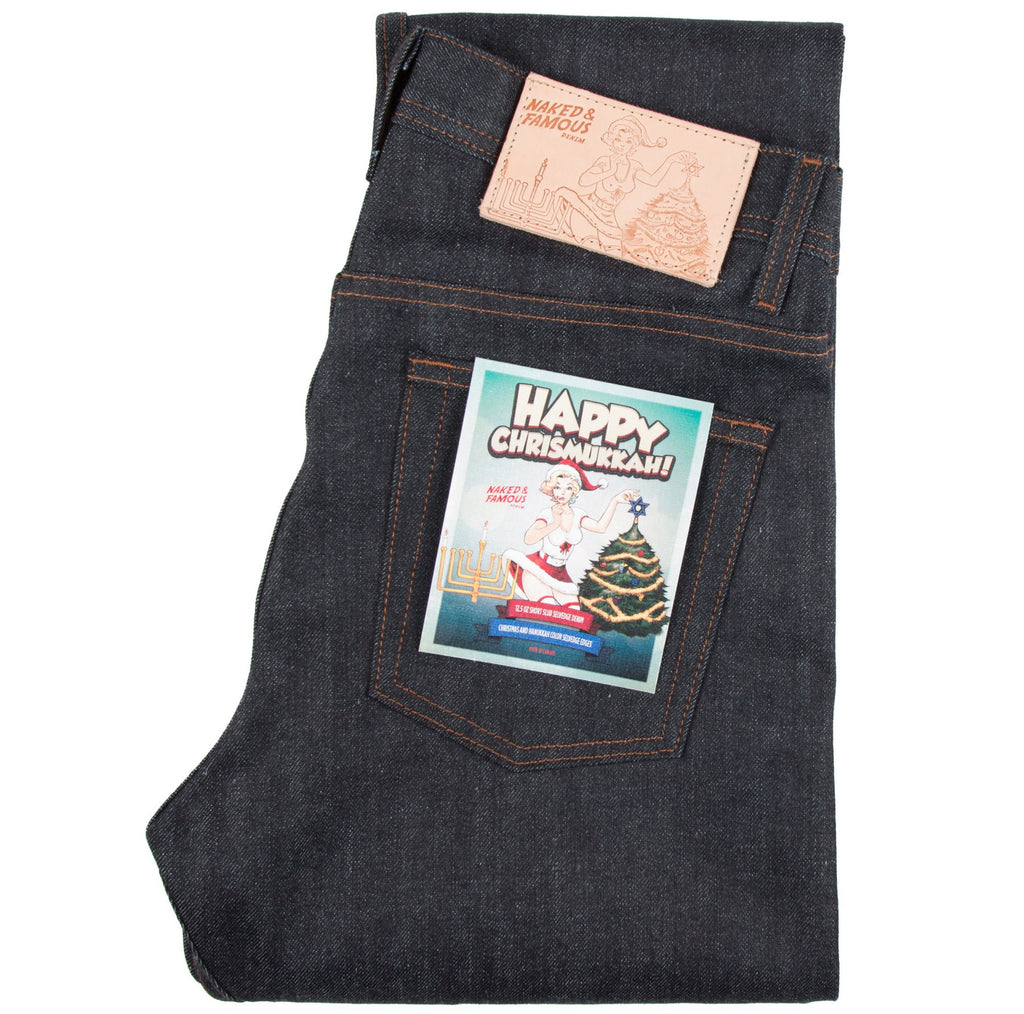 https://offthehook.ca/products/weird-guy-chrismukkah-selvedge-denim?variant=33110057478