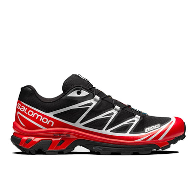 Salomon XT-6 Advanced Black/Racing Red/White - Side - Off The Hook Montreal