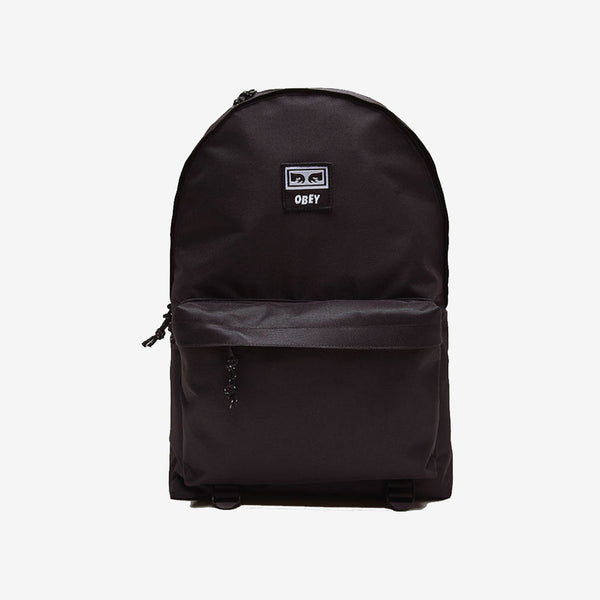OBEY 100010120 Takeover Day Pack Black  - front - available at off the hook montreal