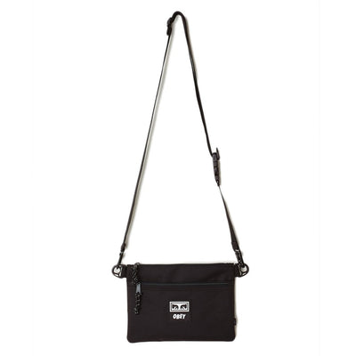 OBEY Conditions Side Bag III Black available at off the hook Montreal