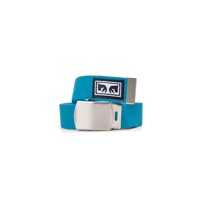 100050026 Big Boy Web Belt - men's - available at off the hook montreal #color_blue-green