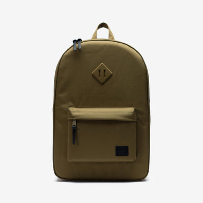Herschel 10007.03884.OS Heritage Backpack 600D Khaki Green front view - available at off the hook montreal