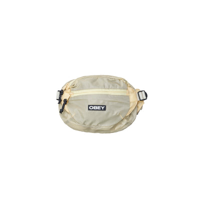 OBEY Commuter Waist Bag - Front -  Off The Hook Montreal #color_khaki