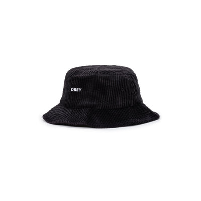 100520051 Bold Cord Bucket Hat - front - available at off the hook montreal #color_black
