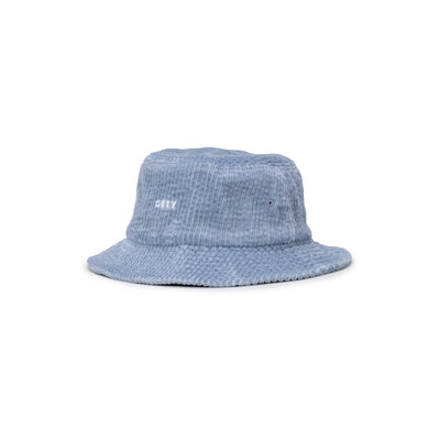 100520051 Bold Cord Bucket Hat - front - available at off the hook montreal #color_ice-blue
