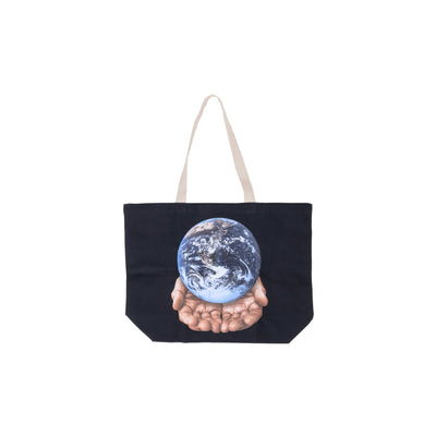 100552596 Our Planet Is In Your Hands Tote #color_black
