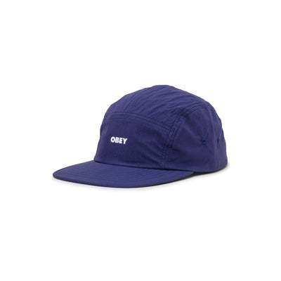 100580285 Crunchy Camp Hat - front - available at off the hook montreal #color_navy