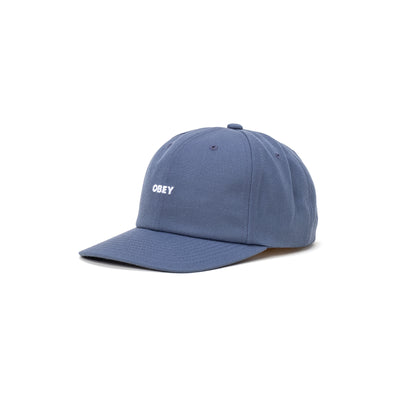 100580275 Serge 6 Panel Strapback - front - available at off the hook montreal #color_dark-denim