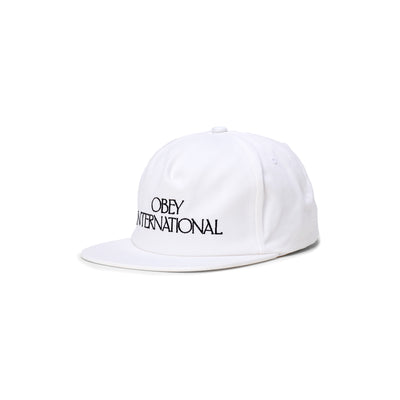 100580283 Players Club Snapback - front - available at off the hook montreal #color_white