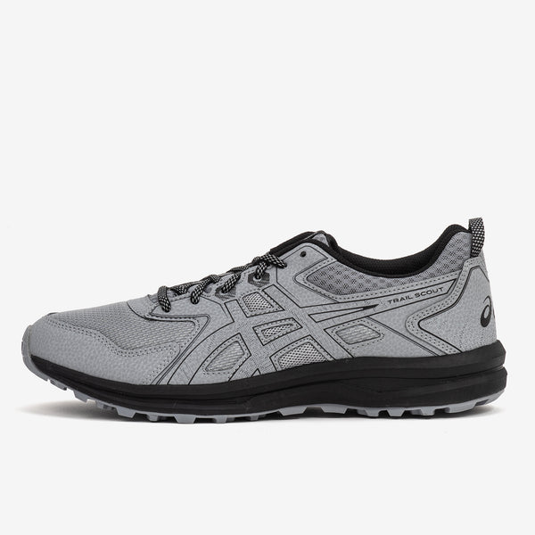 The Asics TRAIL SCOUT running shoe offers multi-surface grip technology to help you take on tough outdoor terrains. Now at Off The Hook, OTH, Montreal, Quebec, Canada.