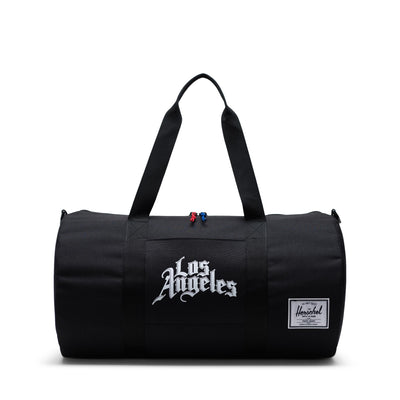 Herschel Sutton Mid 600D Poly Duffle - LA Clippers - Front - Off The Hook Montreal