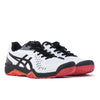 Asics 1041A045 Gel Challenger 12 Blanc / Noir - Vue 3/4 avant - Disponible à off the hook montreal