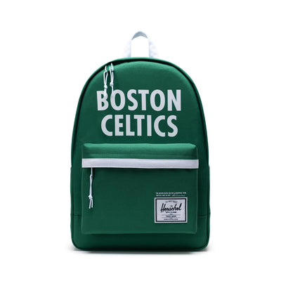 Herschel Poly Backpack - Boston Celtics - Front - Off The Hook Montreal