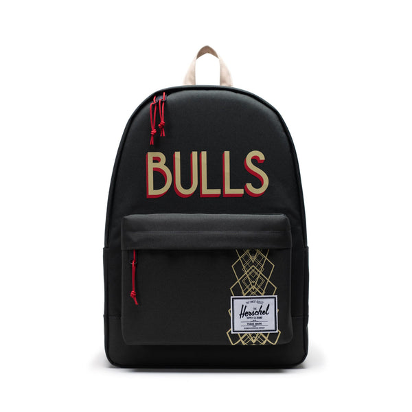 Herschel Poly Backpack - Chicago Bulls - Front - Off The Hook Montreal