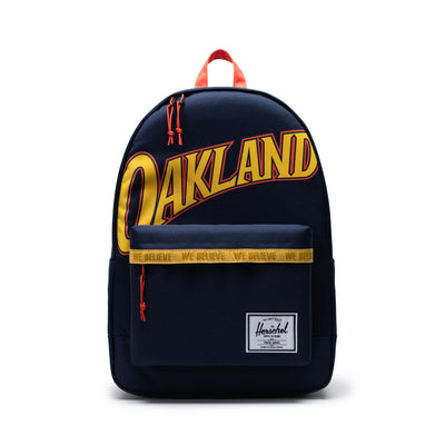 Herschel Poly Backpack - GoldenStates Warriors - Front - Off The Hook Montreal