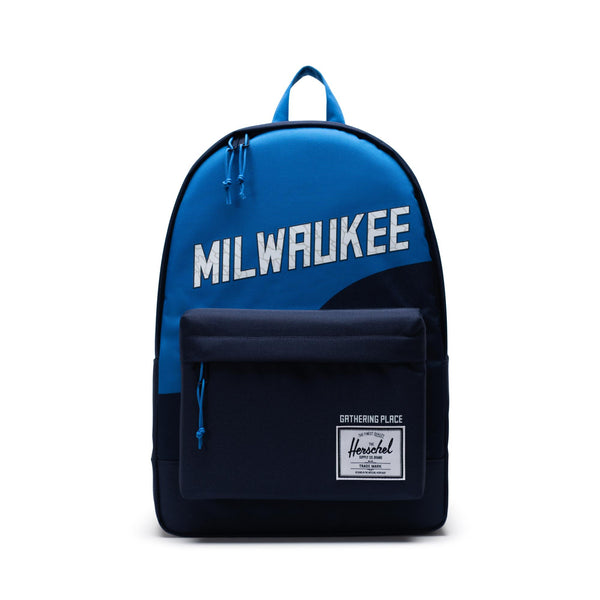 Herschel Poly Backpack - Milwaukee Bucks - Front  - Off The Hook Montreal