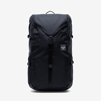 Herschel 10704.02567.OS Barlow Backpack Large Nylon Black - front view - available at off the hook montreal