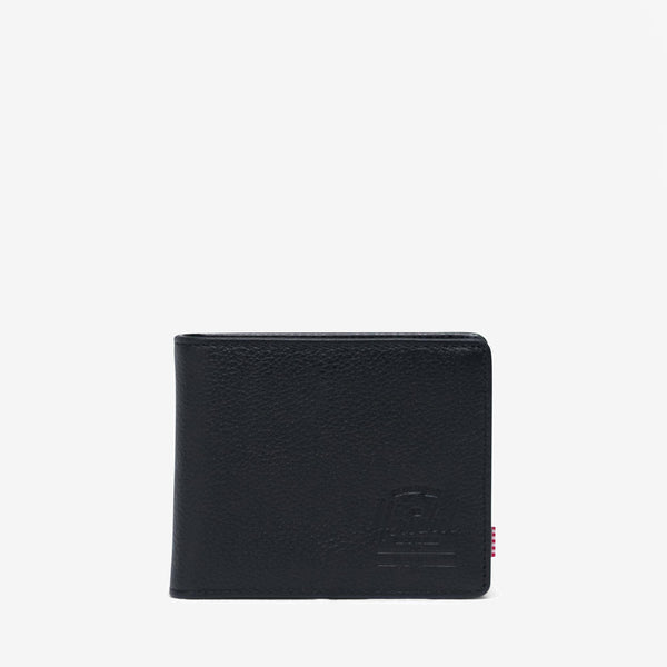 Complete with an internal coin pocket and multiple storage options, the highly utilitarian bi-fold Hank Coin wallet in Black Pebbled Leather from Herschel features a classic design. Striped fabric liner Multiple card slots Currency sleeve and additional storage Internal coin pocket with H.S.Co branded metal snap Engineered red and white striped tab Product code: 10762.01885.OS off the hook oth streetwear boutique canada montreal