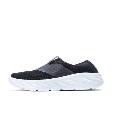 1099677 Ora Recovery Shoe Black/Phantom - side - available at off the hook montreal