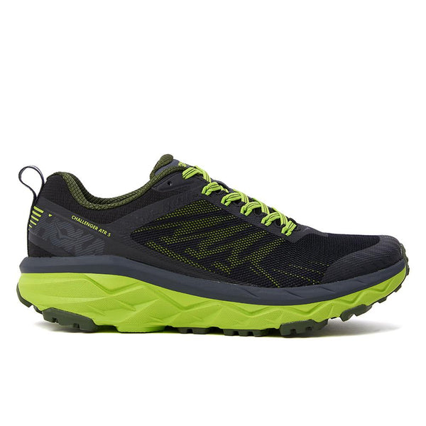 HOKA ONE ONE Challenger ATR5 - Ebony / Black - Side -  Off The Hook Montreal