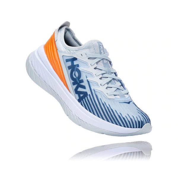 HOKA ONE ONE M Carbon X-SE - Plein Air / Birds of Paradise - 45deg - Off The Hook Montreal