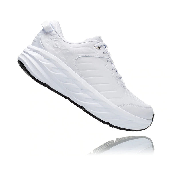 HOKA ONE ONE M Bondi SR - White / White - Side - Off The Hook Montreal
