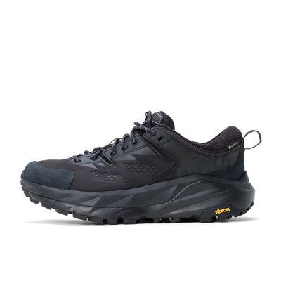 Hoka One One Kaha Low Gore-Tex - Black / Gharcoal Grey - Side - Off The Hook Montreal