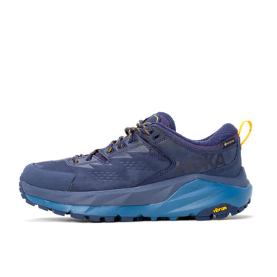 Hoka One ONe Kaha Low Gore-tex - Black Iris / Moroccan Blue - Side - Off The Hook Montreal