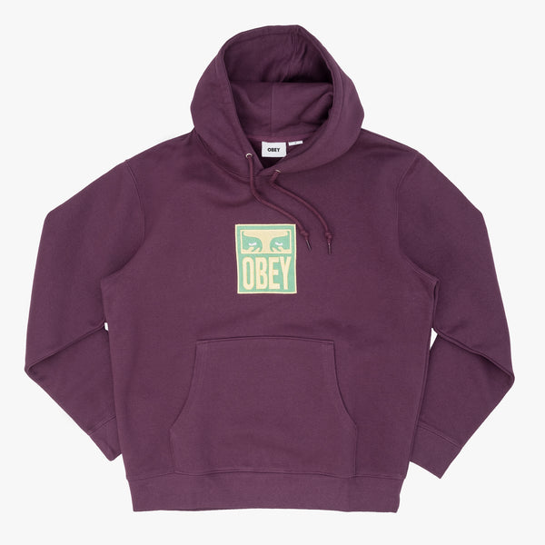 Obey 112470103 Stack Pullover Specialty Fleece - front view - available at off the hook montreal