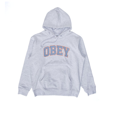 112470127 OBEY Sports III Hood - men's - Ash Grey  - front - available at off the hook montreal #color_ash-grey