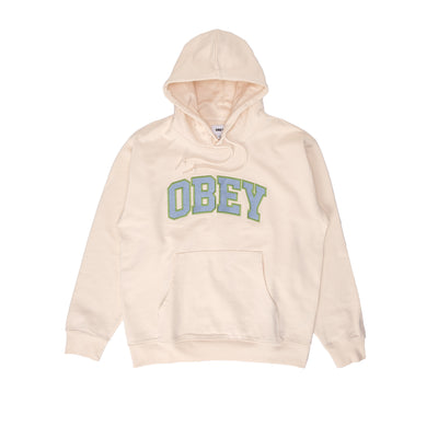 112470127 OBEY Sports III Hood - men's - sago - front - available at off the hook montreal #color_sago