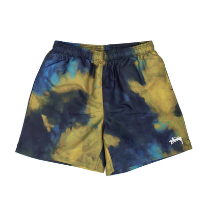 Stussy Dark Dye Water Short - Navy - Front - Off The Hook Montreal