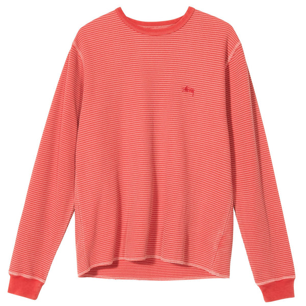 Stussy O'dyed LS - Rose - Front  - Off The Hook Montreal