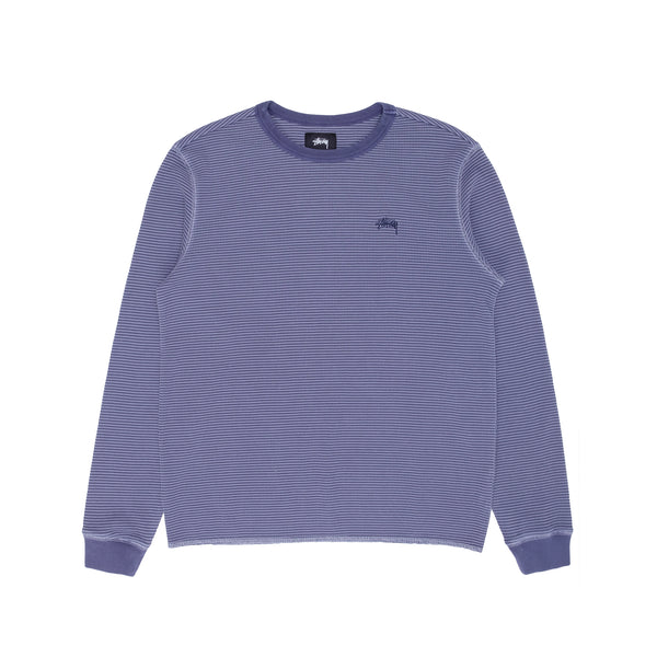 Stussy 1140232 O'Dyed LS Thermal  - front - available at off the hook montreal
