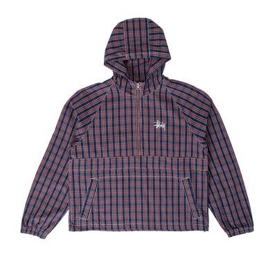 115559 Brushed Cotton Anorak - front - available at off the hook montreal #color_plaid