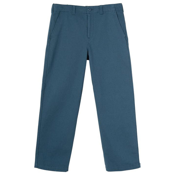 Stussy 116448 Uniform Pant Blue front available at off the hook montreal