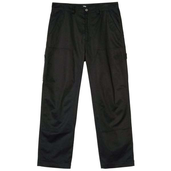 Stussy Work Pant - Black - Front - Off The Hook Montreal