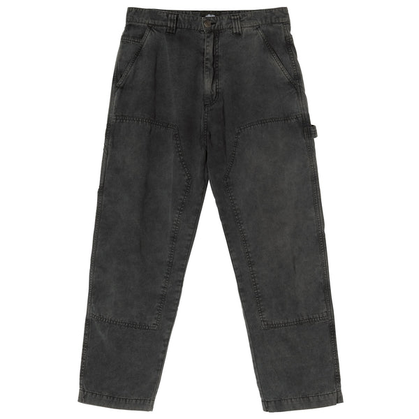 Stussy Canvas Work Pant - Grey - Front - Off The Hook Montreal