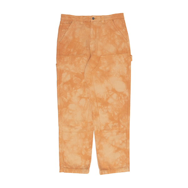 Stussy Dyed Work Pant - Brown - Front - Off The Hook Montreal