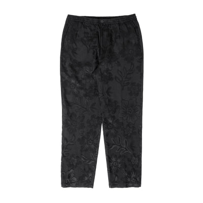 Stussy Hawaiian Jacquard Bryan Pant - Black - Front - Off The Hook Montreal