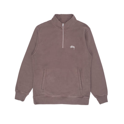 Stussy Stock Logo mock - Brown - Front - Off The hook Montreal