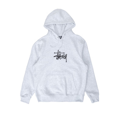 Stussy Basic App Hood - ash heather - Front - Off The Hook Montreal #color_ash-heather