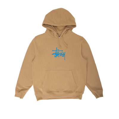 Stussy Basic App Hood - Khaki - Front - Off The Hook Montreal #color_khaki