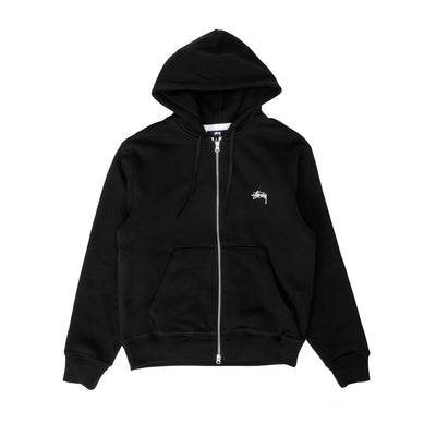 Thermal zip hoodie 118433 - front - black - available at off the hook montreal #color_black