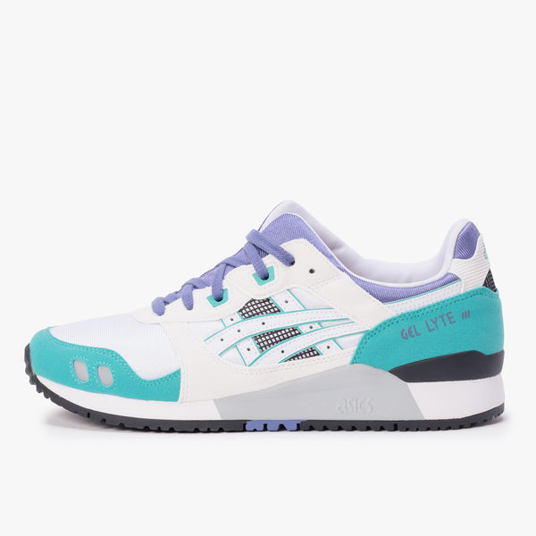 Asics Gel Lyte III - OG White / Blue - Side - Off The Hook Montreal