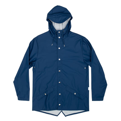 Rains Jacket - Blue - Front - Off The Hook Montreal