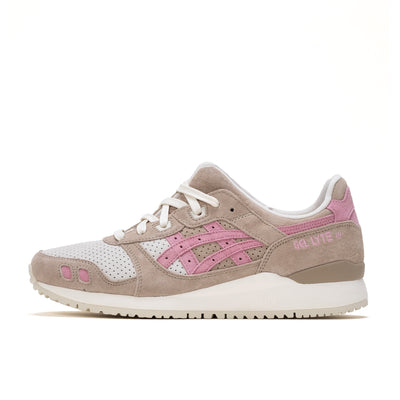 Asics Gel Lyte III - OG Wood Crep / Plum Blossom - Side - Off The Hook Montreal
